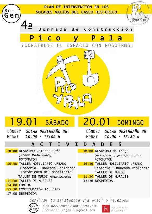 CARTEL 4ª Pico y Pala