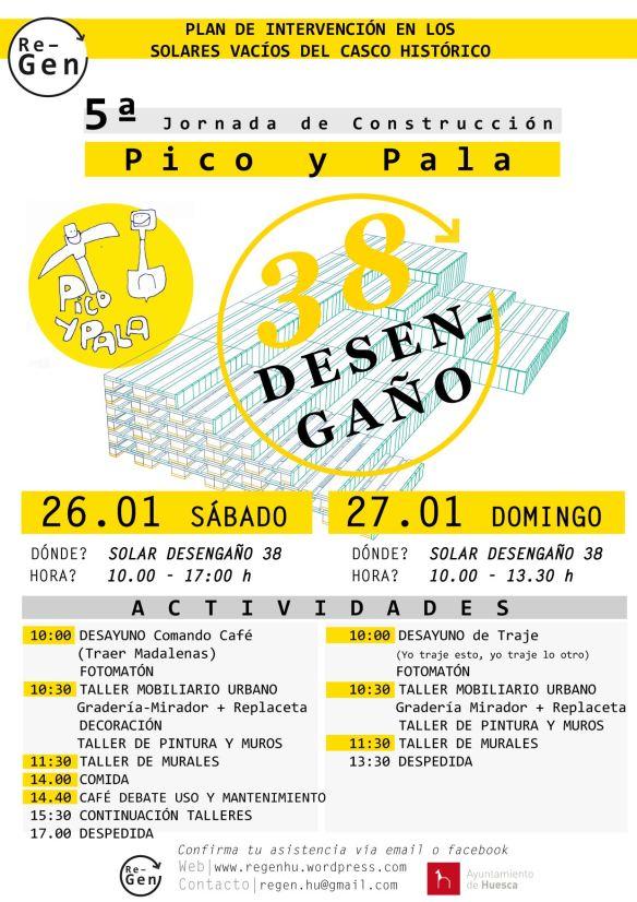 CARTEL 5ª Pico y Pala