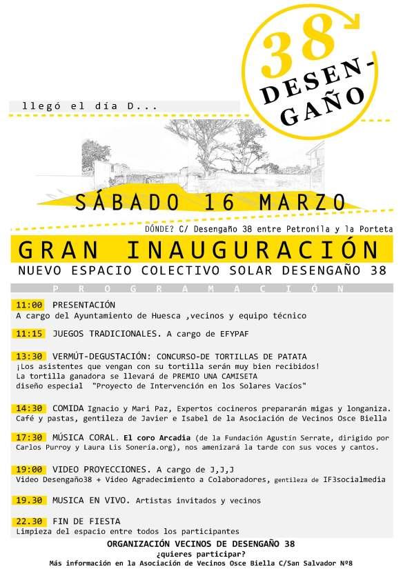 Programa Inauguración