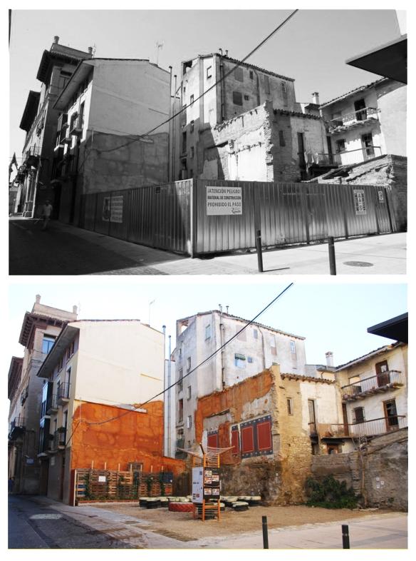 Así es el contraste de la calle de unos meses atrás a día de hoy