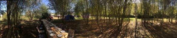 Campamento Primero días